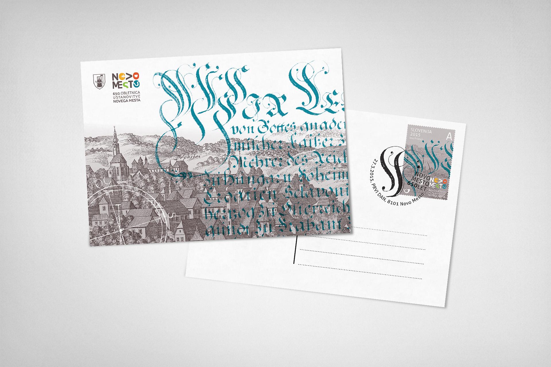 arnoldvuga-novo-mesto-razglednica-jure-kozuh